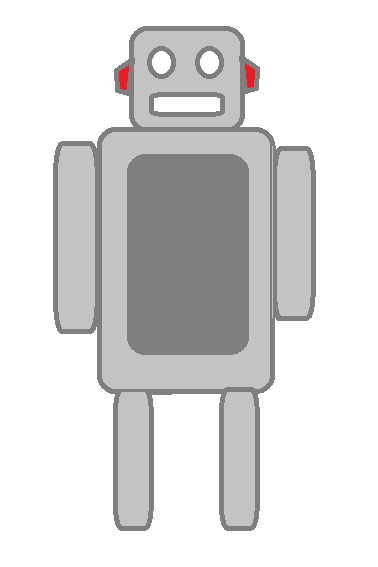 Grey_cartoon_robot